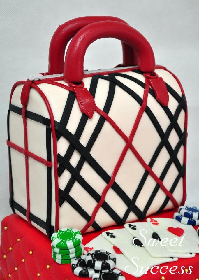 Burberry Handbag Cake