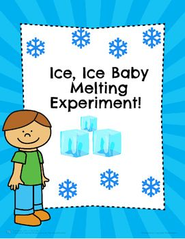 This set comes with an easy to read definition sheet that lists the steps of the scientific method in an easy to understand way. It also includes a template the students fill out as they are doing their Ice melting experiment (lab) using each step of the scientific method.