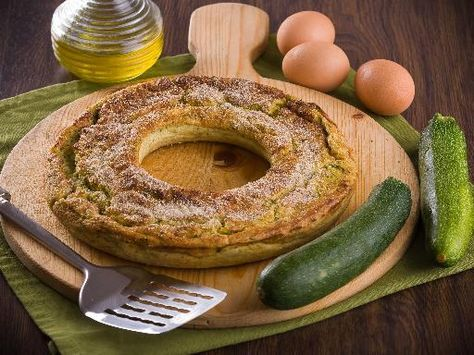 Ciambellone di verdure (forno microonde) - Ricetta
