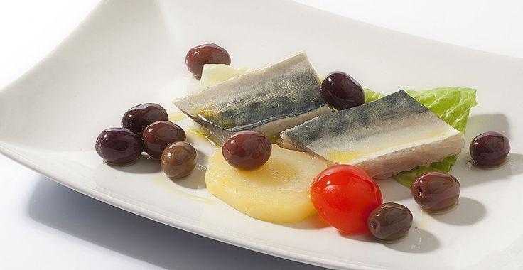 Ricetta Sgombro marinato con olive Itrana - Ricette con le Olive