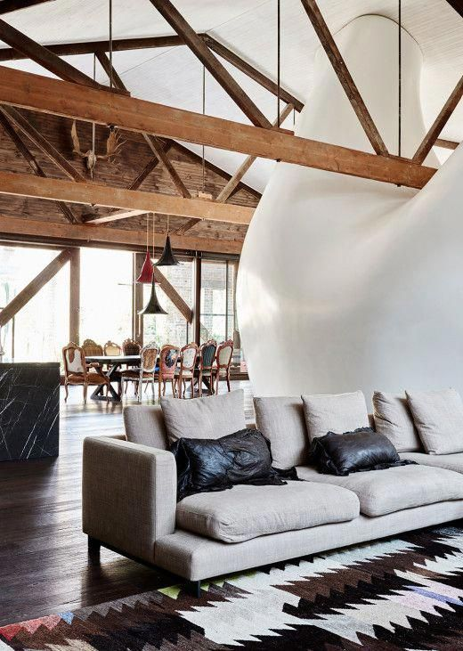 Charming Rustic Space With A Modern Western Decor John Winning