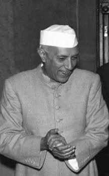 Jawaharlal Nehru  (1889-1964) Premier Ministre (1947-1964)