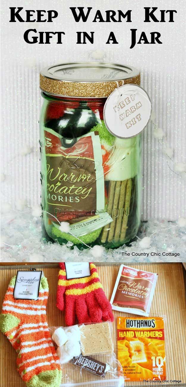 53 Coolest DIY Mason Jar Gifts + Other Fun Ideas in A Jar ,  Karen Neumann