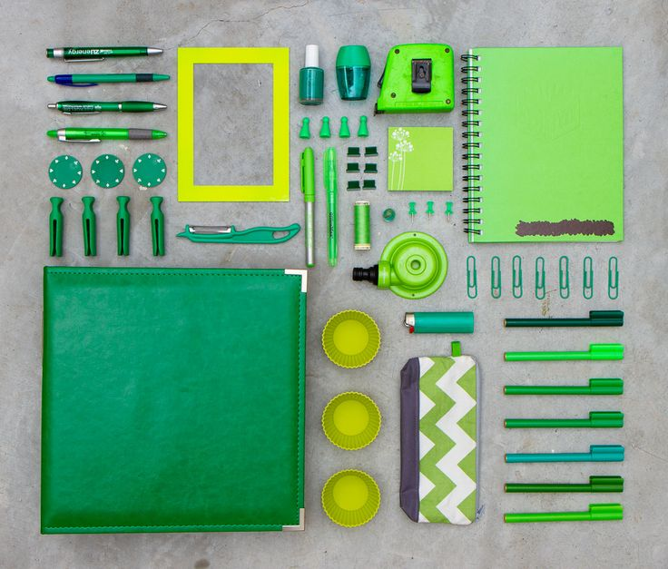 SUBMISSION: I didn't realise I owned so many green things.