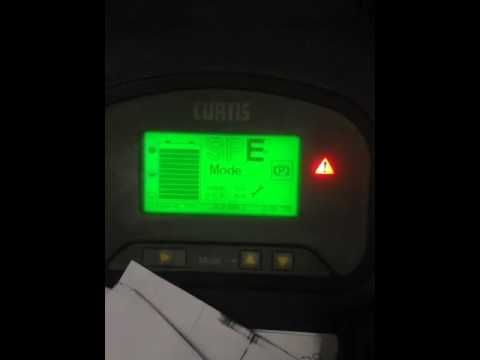 TRAVEL ERROR CODE  FORKLIFT