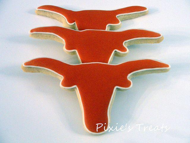 Texas Longhorns Cookie Cake
