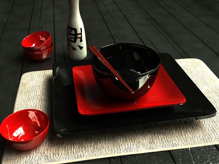 Japanese Table by ~vibe24 on deviantART