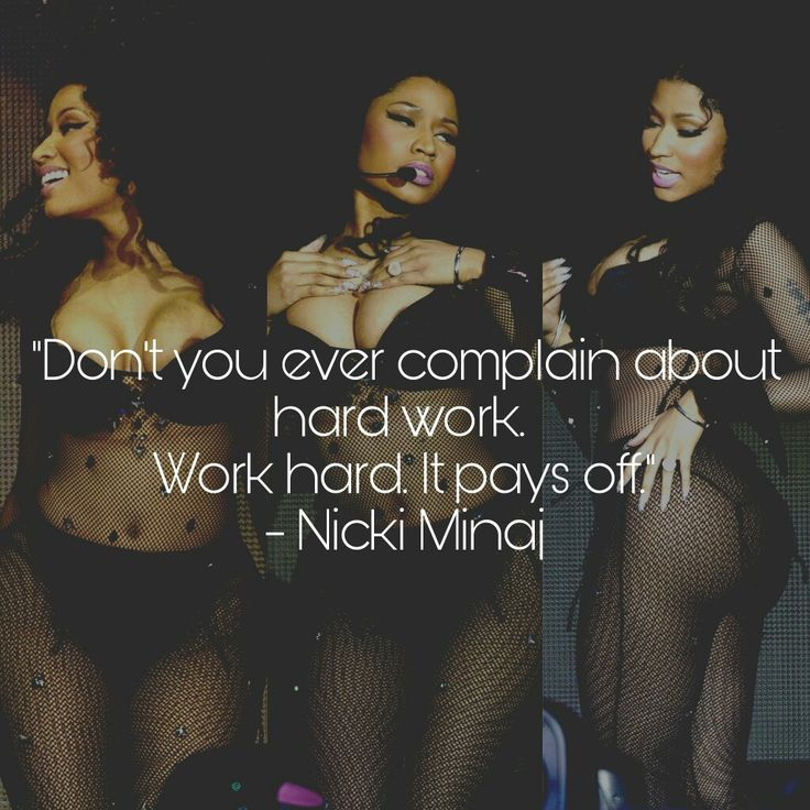 Nicki Minaj inspiring quotes