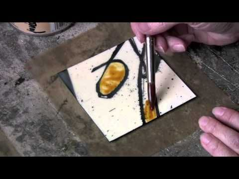 Encaustic Process Video by Nancy Crawford With Love and Gratitude 50th Birthday Project