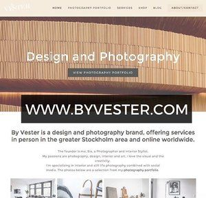 Yay, I'm finally done with my new website! Well almost anyway, the shop is actually not ready yet, but soon though! Go check it out and stay tuned for the shop coming up in a while. WWW.BYVESTER.COM 👋🏼