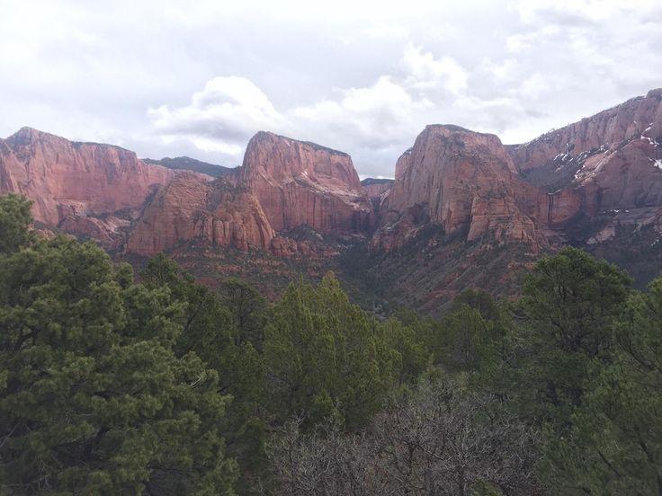 Kolob Canyon, Zion National Park, Ut, Usa [1920x1080]