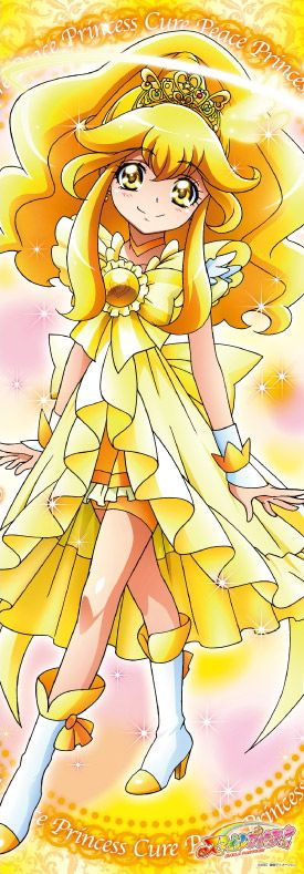 Smile Precure Stick Poster   Cure Peace