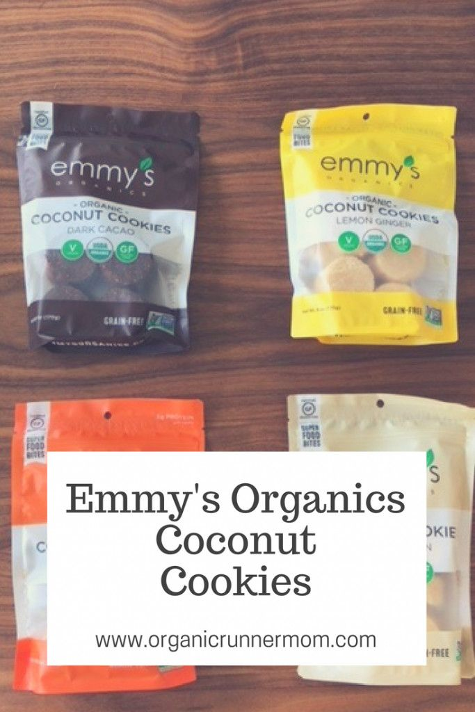 Fresh Review Emmy S Organics Coconut Cookies Organic Runner Mom Organic Cookies Coconut Cookies Recipes Coconut Cookies