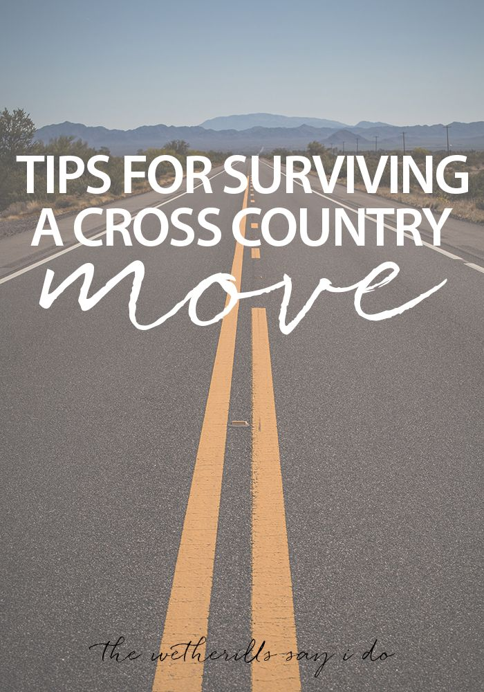 Tips for Surviving a Cross Country Move from the Wetherills Say I Do. #realestate #moving #coloradospringsrealtor