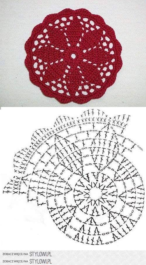 1651 best drobnosti images on Pinterest | Breien, Crochet doilies ...