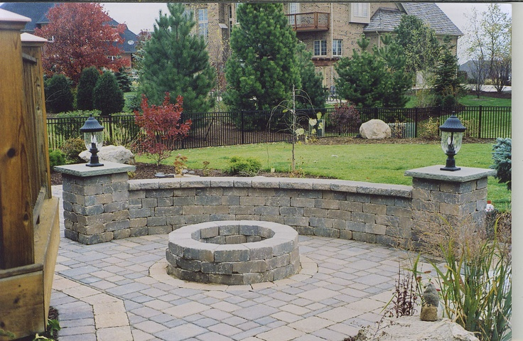 patio retaining wall with lights Outdoors Pinterest Solar, The o jays and Patio