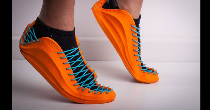"""The words """"homemade"""" and """"sneakers"""" don't really go hand-in-hand. If you can afford a $3,000 3D printer, though, your home probably isn't all that normal. Download this, print it out, and you'll get some flexible running shoes for less than it costs to drive to the mall."""