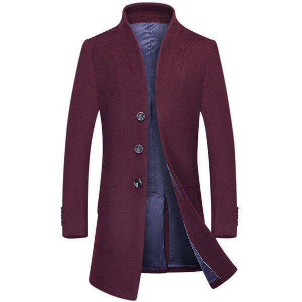 Best 25  Mens long wool coat ideas on Pinterest | Winter trench ...