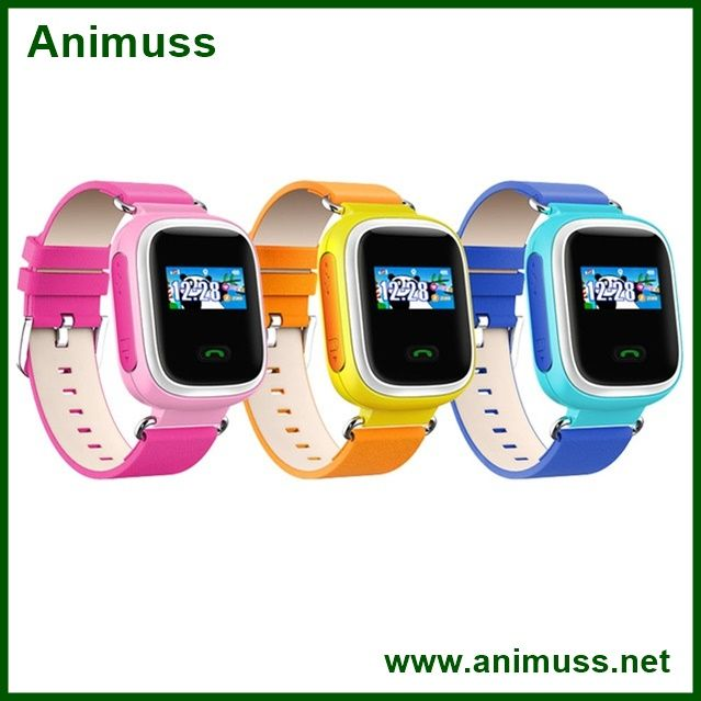 2016 GPS Kids Tracker wristwatch Smart Watch SOS Call Location Finder Locator Tracker for Kid Child Anti Lost Monitor Baby Gift