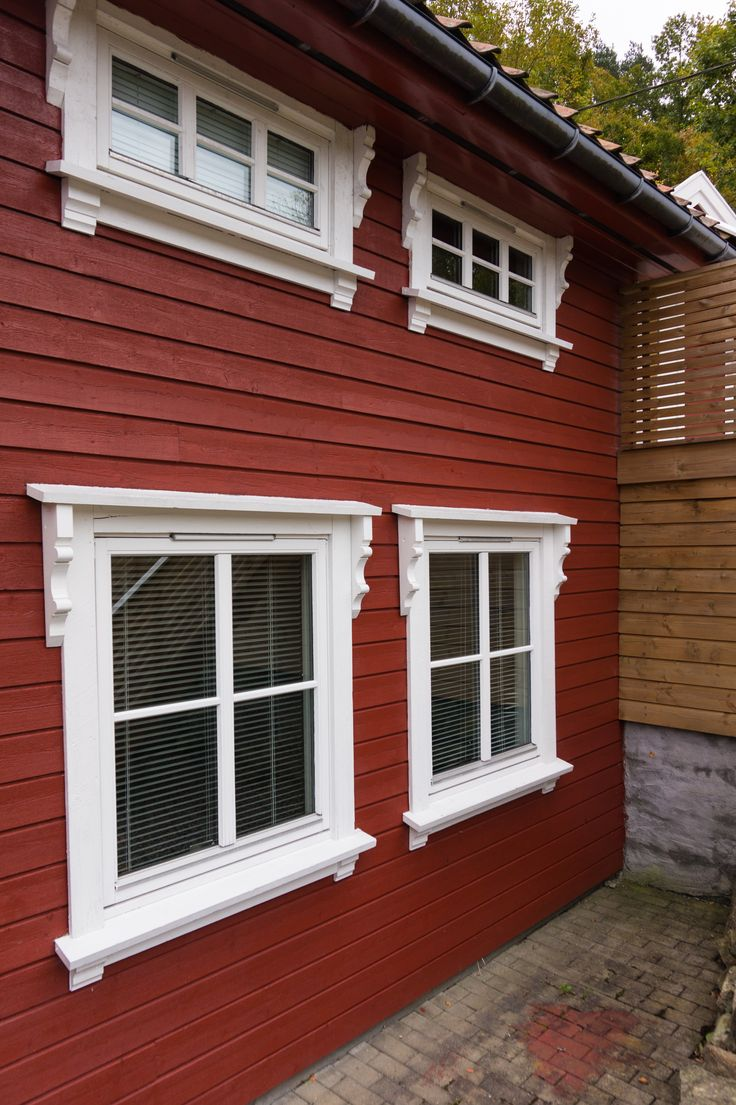 www.hjemogfix.no #vindusomramning #framing #windows #exterior