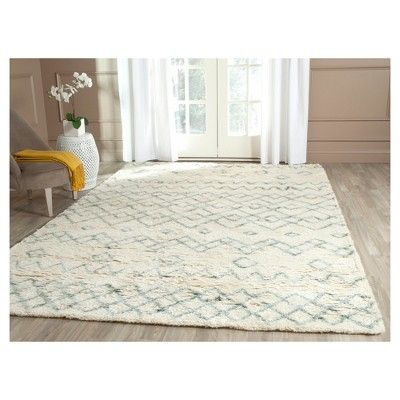 Claire Area Rug - Ivory / Blue (8' X 10') - Safavieh