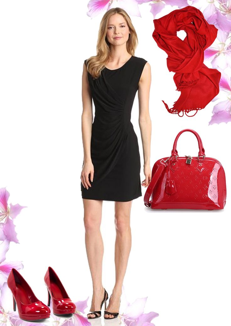 Cute Club Outfit Combination with Black Dress #clubdress #dress #blackdress