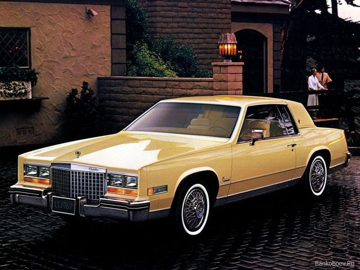 HD Wallpaper For Backgrounds Cadillac Eldorado 1980 Car Tuning And Concept Wallpapers