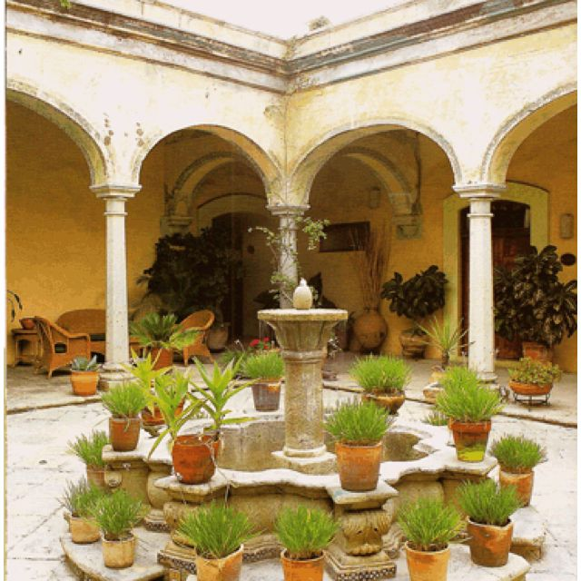 685 best images about jardines mexicanos on pinterest for Mexican style architecture