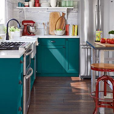 These doors are made for IKEA and other companies by Semihandmade Doors . Could use as a great example of replacing just the doors, not entire cabinet