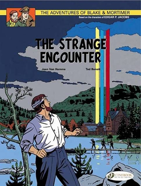 Blake and Mortimer head to the United States to investigate the mysterious circumstances surrounding the discovery of a 177-year-old body, which appears to have died very recently. The body is that of a Scottish major, Mortimer's forebear, who was leading a British military expedition to the US in 1777, where he was swallowed up by a strange multi-coloured light-beam shining down from the sky.