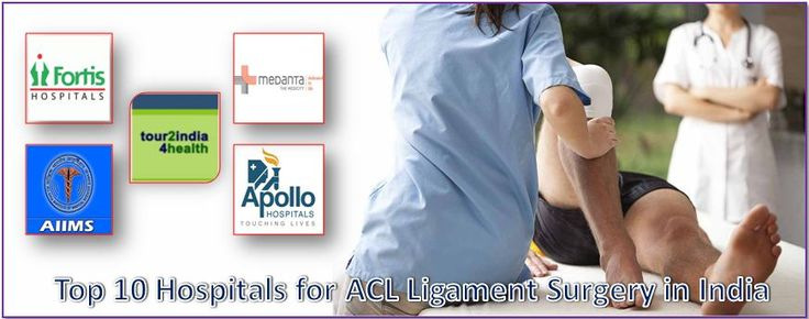 Top 10 Hospitals for ACL Ligament Surgery in India