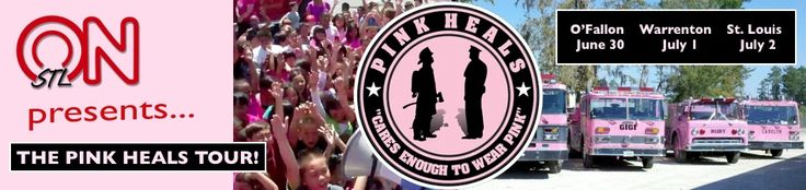 Pink Heals tour coming to The Fountain on Locust on July 2nd!