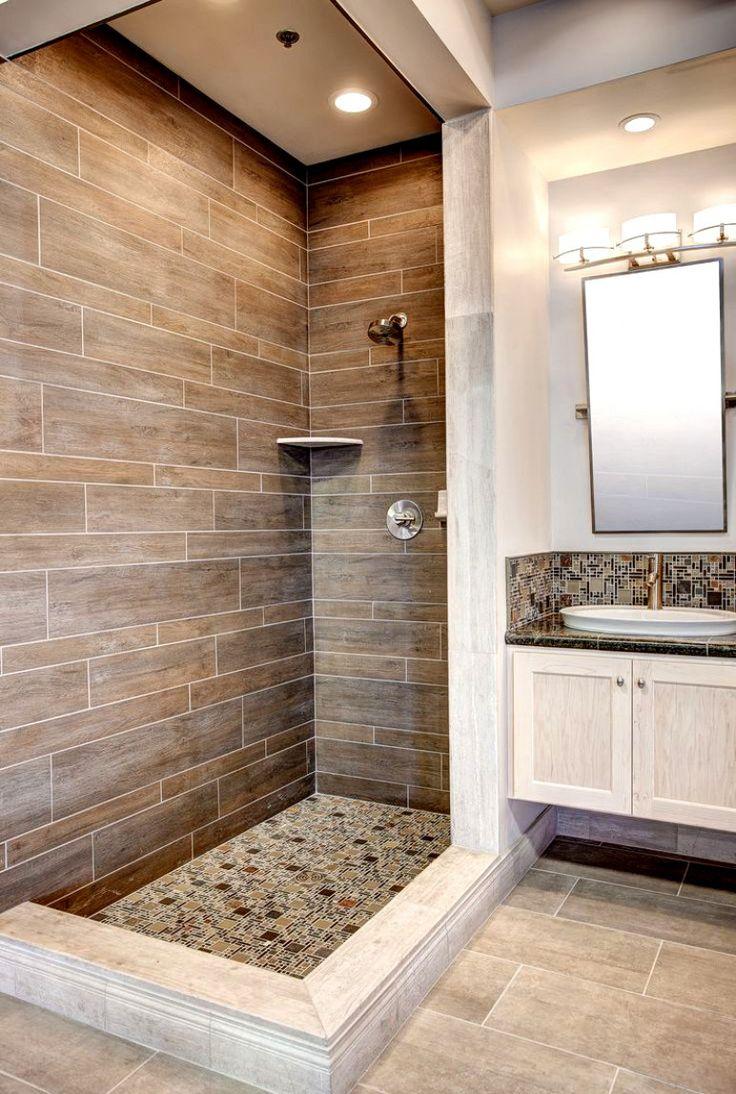 20 amazing bathrooms with woodlike tile  tiny house