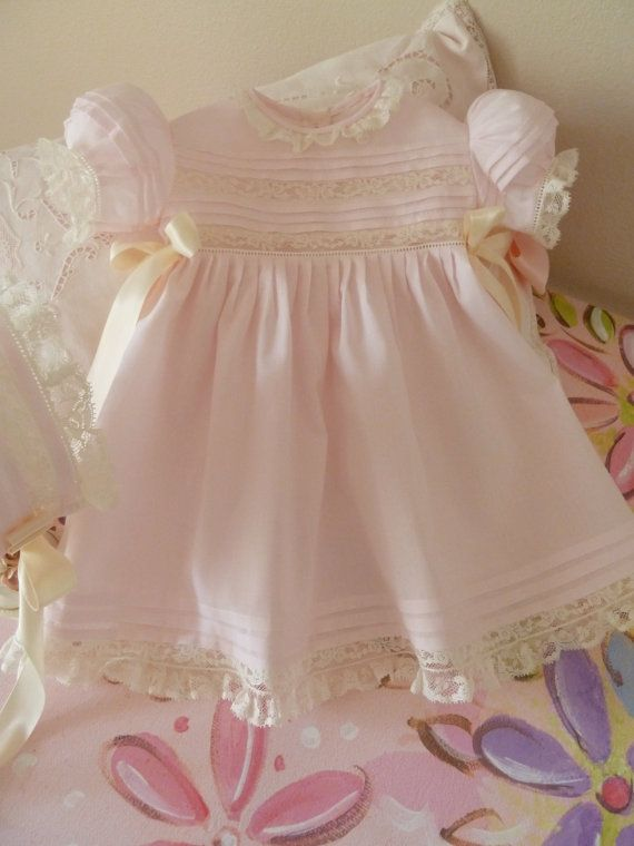 READYTOSHIP / 36 Months Heirloom Baby Dress by justforbabyonline