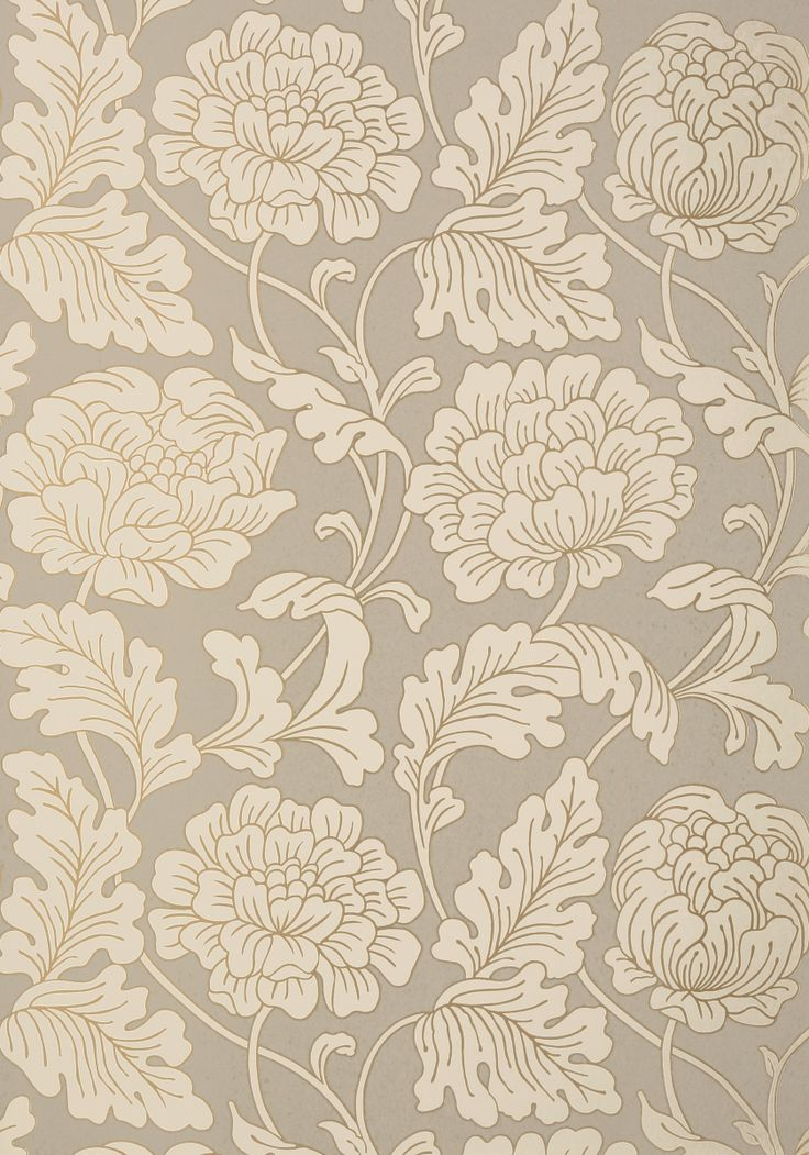 With a hint of art nouveau style, Hathaway's large and blooming floral…