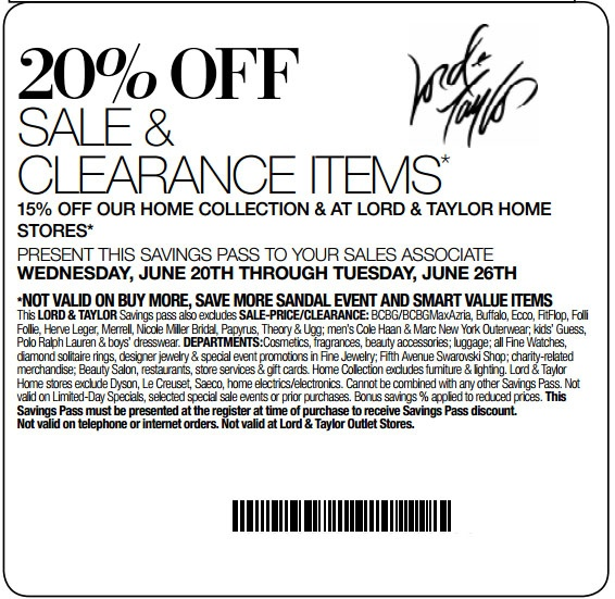 photograph relating to Lord and Taylor $15 Printable Coupon named Coupon codes for lord and taylor 2018 / Namecoins discount coupons