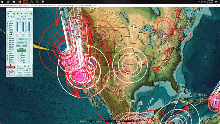 2 07 2019 Volcano East Of Los Angeles Hit By Sudden Earthquake Swarm Earthquakes Activities Recent Earthquakes Earthquake