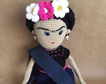 Amigurumi Frida Kahlo : Best frida knit dolls images amigurumi