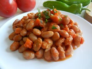 10 Great Turkish Vegetable Dishes: Pinto Beans With Olive Oil Are Called 'Zeytinyağlı Barbunya'