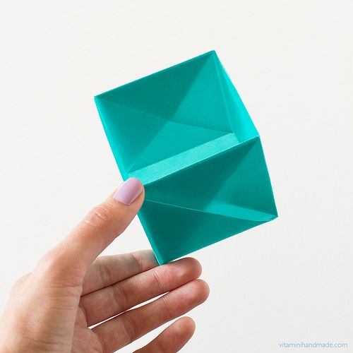 Secret Message Origami Square