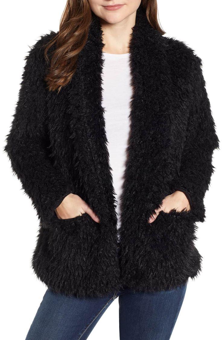 Love, Fire Woobie Jacket Nordstrom Outerwear sale