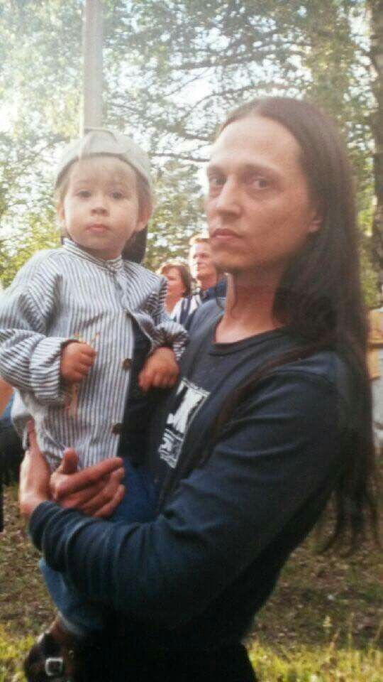 Peter and son, Sebastian Tägtgren. Turned 18 on 6th July 2016. <3