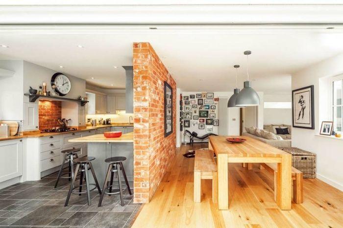 1001 Ideen Zum Thema Offene Kuche Trennen Kuchenplanung Halboffene Kuche Kleine Wohnkuche