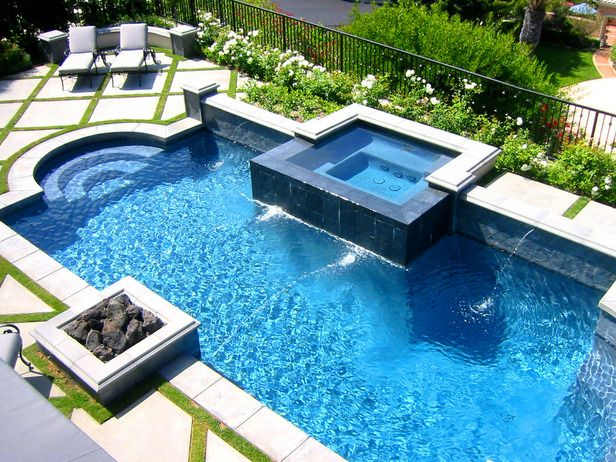 28 best pool design images on Pinterest | Architecture, Backyard ...