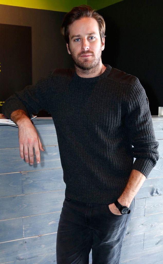 Armie Hammer from Sundance 2016: Star Sightings   E! Online