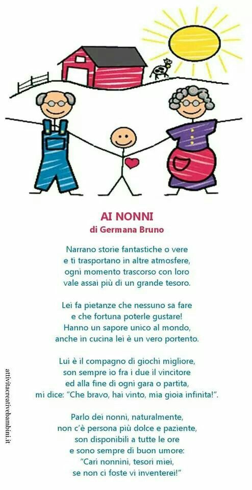 Super 58 best Festa dei nonni images on Pinterest | Crafts for kids  IB27