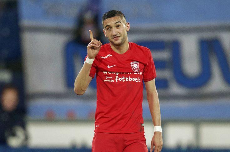 Hakim Ziyech (FC Twente) beats Mehdi Benatia to Moroccan Player of the Year award