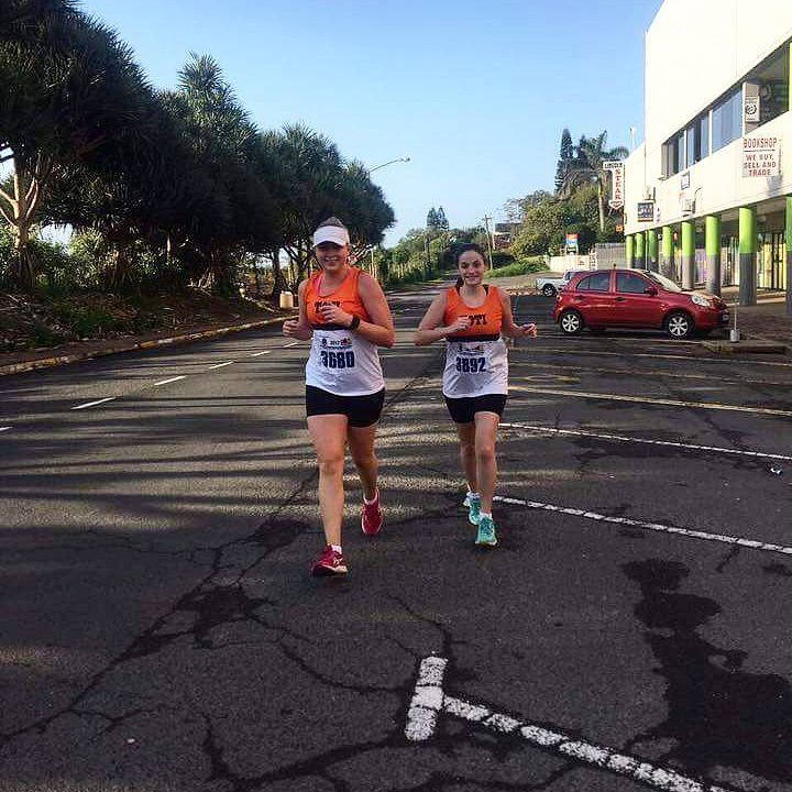 """81 Likes, 3 Comments - S H A N N O N - C L A I R E 👊 (@shan_claire_za) on Instagram: """"""""Its about conquering the distance, not beating the clock"""" ❤ _ Yesterday's action shot 💪 _"""""""