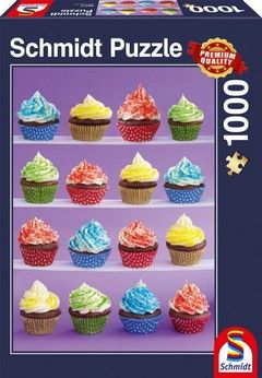 Puzzle 1000 Standard - Cupcakes