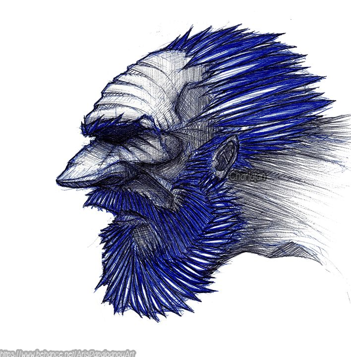 Bluebeard ( character design with bic )